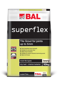 BAL Superflex Ivory Wall Grout 10kg