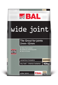 BAL Ivory Wide Joint Grout 10kg