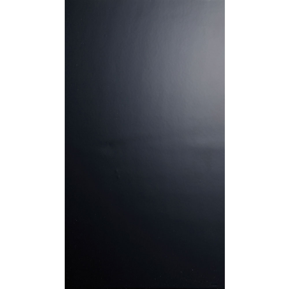 Function and Form Gloss Black Field Tile - 248x498mm