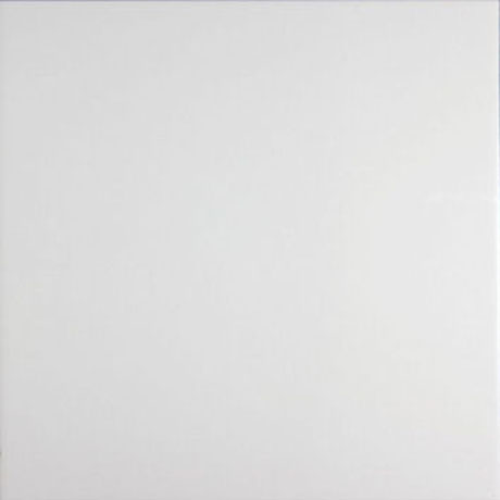 Function and Form Satin White Floor Tile - 331x331mm