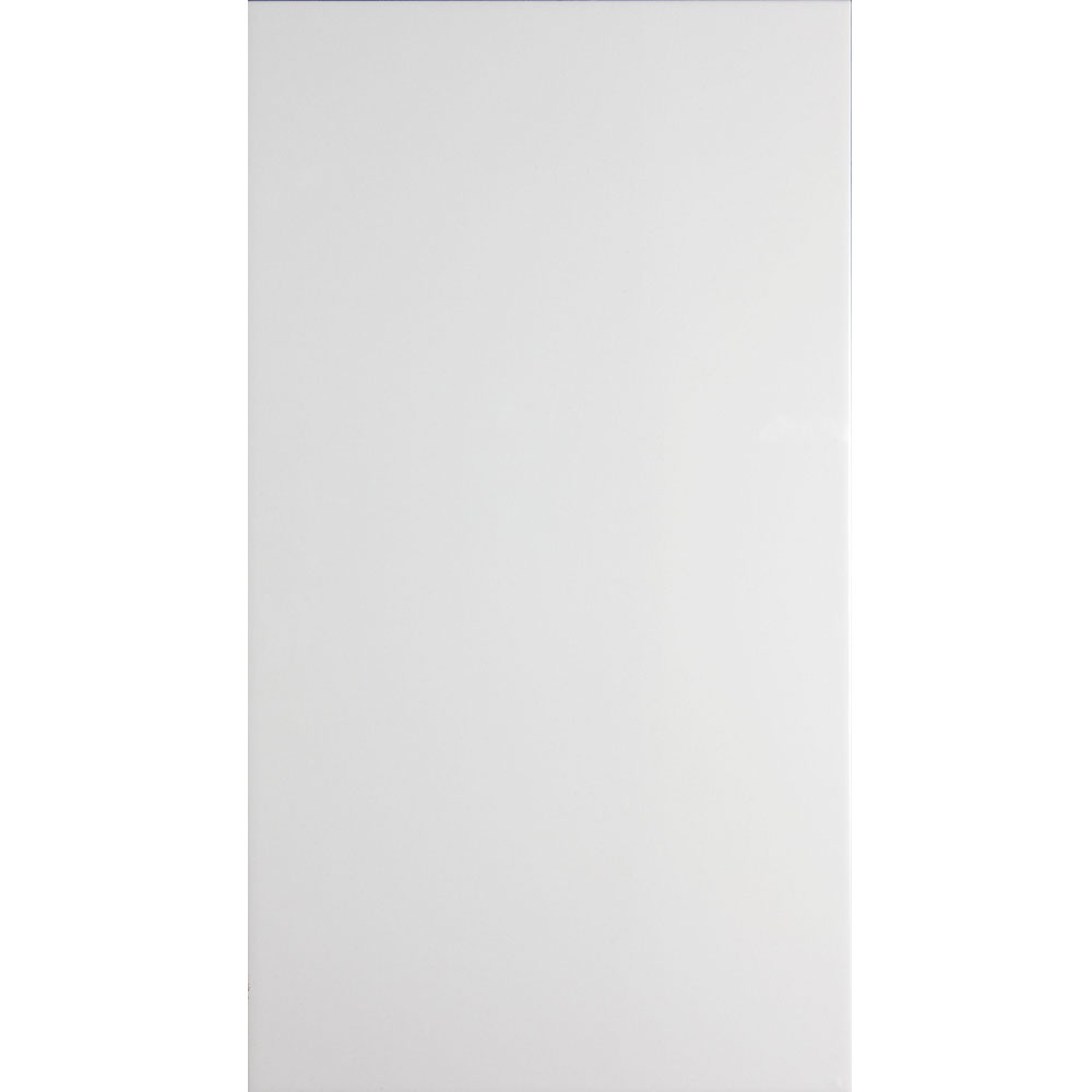 Function and Form Satin White Field Tile - 248x498mm