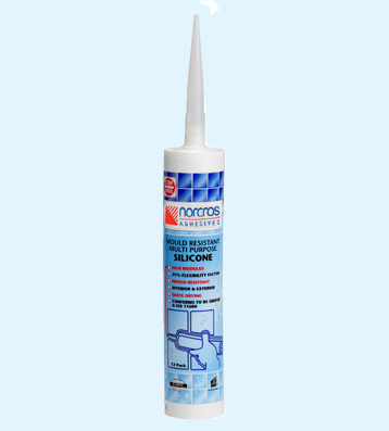 Norcros Adhesives Mould Resistant Silicone - White