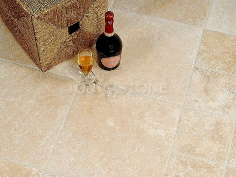 Ionic Stone Lydia Classico Travertine Tumbled 610x610mm