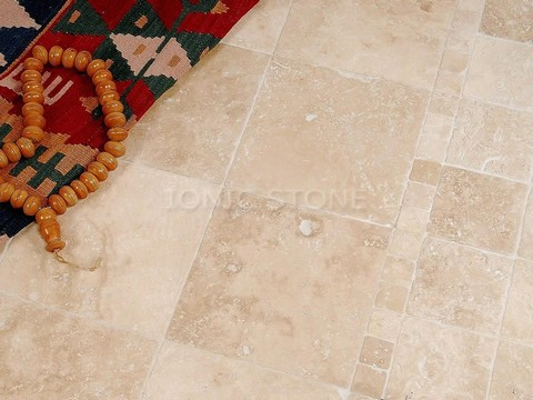Ionic Stone Lydia Antique Travertine Tumbled 406x610mm